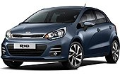 Rent a Kia Rio Hatchback in Cancún