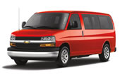 Rent a Chevrolet Van Express 12 Pax in Canc�n