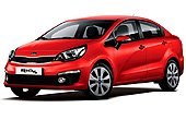 Rent a Kia Rio Sedan in Canc�n